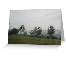 damp french day Greeting Card