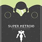 Super Metroid: Retro Poster by Adam Leonhardt