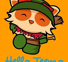 Hello Teemo by domeddi