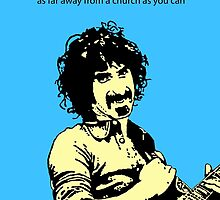 Frank Zappa atheist by DJVYEATES