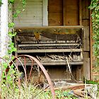 Old Piano On The Porch by WildestArt