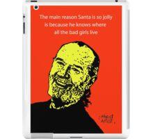 George Carlin Christmas iPad Case/Skin