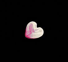 moon heart in the blue sky by spetenfia