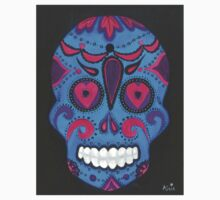 Sugar Skull- Pink and Blue Kids Clothes