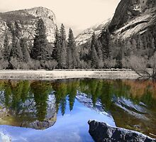 Yosemite - Mirror Lake by Saffron Cuccio