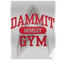 Dammit Gym 1965 Poster
