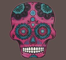 Sugar Skull-Pink Candy Kids Clothes