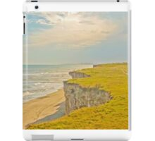 Lonely Beach with Barranco iPad Case/Skin
