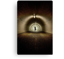 An old tunnel Canvas Print