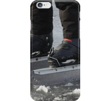 giant Ice Skate iPhone Case/Skin