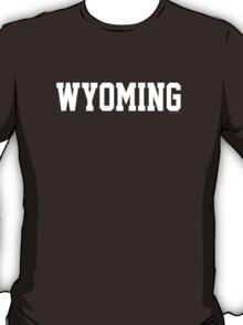 Wyoming Jersey White T-Shirt