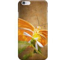 Beauty beneath her wings iPhone Case/Skin