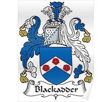 Blackadder Coat of Arms (Scottish) Poster
