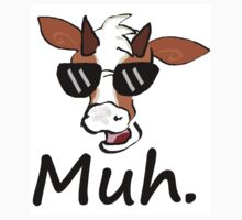 """Muh"" - Cool Cow by TooTurtle"