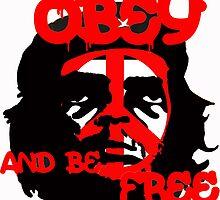 Che Guevara, Be Free. by iSeymourDesigns
