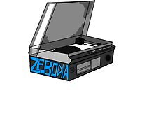Retro Record Player Love Zebodia by Zebodia