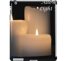 Light Your Way iPad Case/Skin