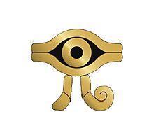Yugioh, Millenium Symbol Photographic Print