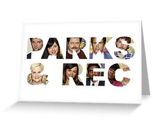 Parks & Rec Greeting Card