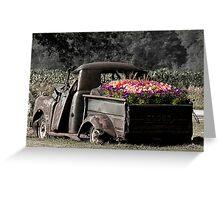 Jalopy Garden Greeting Card