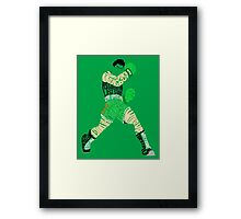 Little Mac Typography Framed Print