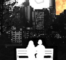 City Moonrise for Rochelle Sticker