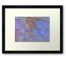 She has done a Beautiful Thing for Me. Framed Print