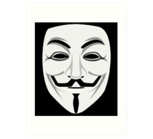 Guy Fawkes Art Print