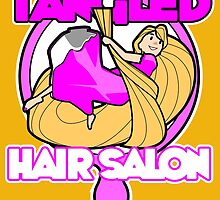 Tangled Hair Salon by spikeani