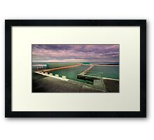 Take a dip 01 Framed Print