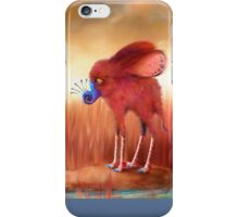 Blue Nosed  iPhone Case/Skin