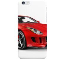 2014 Jaguar F-Type S sports car art photo print iPhone Case/Skin