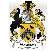 Houston Coat of Arms (Scottish) Poster