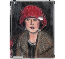 The Red Hat 1920's #1 in a Series iPad Case/Skin