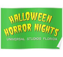 Retro Horror Nights Poster