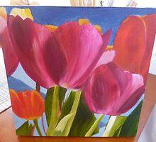 Spring Tulips by susanperrott
