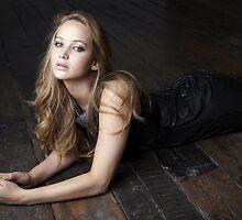 Jennifer Lawrence Floor by bab8ter
