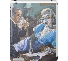 Woman in Blue Redux iPad Case/Skin