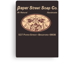 Paper Street Soap Co.T-Shirt Canvas Print