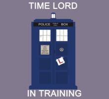 Time Lord In Training (Learner Pilot) Kids Clothes