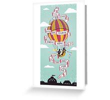 Balloon Adventure Greeting Card