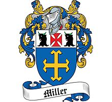 Miller Coat of Arms (Acre Valley, co. Sterling, Scotland) Photographic Print