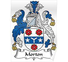 Morton Coat of Arms (Greenock, Scotland) Poster