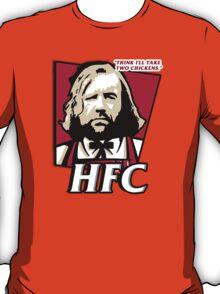 The hound fried chicken (HFC) - Kentucky parody.  T-Shirt