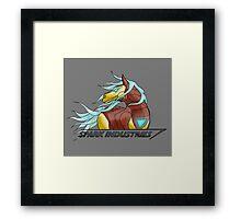 Spark Industries Framed Print