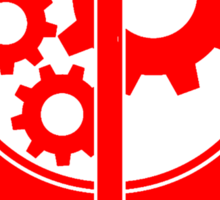 B.O.S. Red Sticker