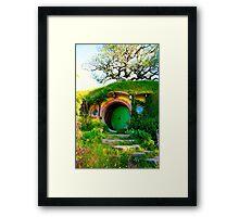 Bag End - Hobbiton, New Zealand Framed Print