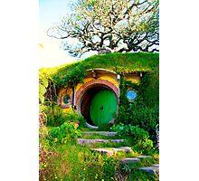 Bag End - Hobbiton, New Zealand Photographic Print