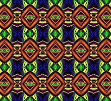 Abstract 3D Pattern by perkinsdesigns