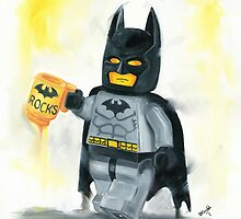 Batman Rocks by Deborah Cauchi